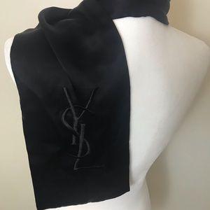 🎁Yves Saint Laurent Long Tuxedo Scarf
